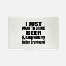 Hang With My Italian Gr Rectangle Magnet (10 pack)