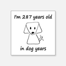 41 Dog Years 6-2 Sticker