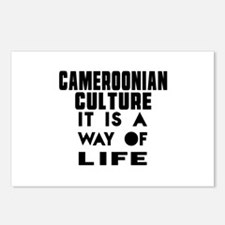 Cemeroonian Culture It Is Postcards (Package of 8)