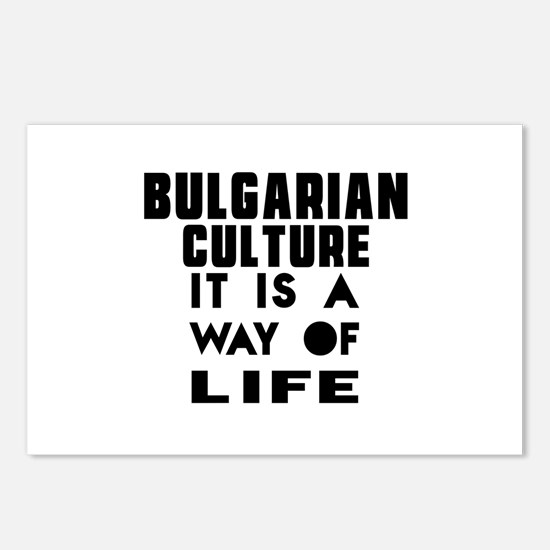 Bulgarian Culture It Is A Postcards (Package of 8)