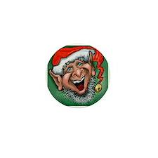 Cute Santa's elves Mini Button