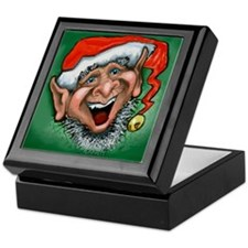 Unique Happy holidays Keepsake Box