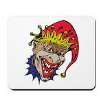 Laughing Evil Grin Clown Mousepad