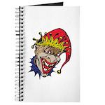 Laughing Evil Grin Clown Journal