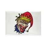 Laughing Evil Grin Clown Rectangle Magnet (10 pack