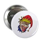 Laughing Evil Grin Clown 2.25