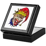 Laughing Evil Grin Clown Keepsake Box
