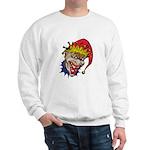 Laughing Evil Grin Clown Sweatshirt