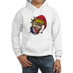 Laughing Evil Grin Clown Hooded Sweatshirt