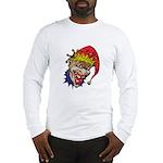 Laughing Evil Grin Clown Long Sleeve T-Shirt