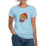 Laughing Evil Grin Clown Women's Light T-Shirt
