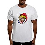 Laughing Evil Grin Clown Light T-Shirt
