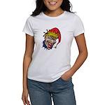Laughing Evil Grin Clown Women's T-Shirt