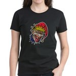 Laughing Evil Grin Clown Women's Dark T-Shirt