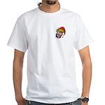 Laughing Evil Grin Clown White T-Shirt