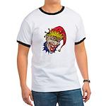 Laughing Evil Grin Clown Ringer T