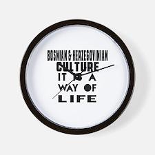 Bosnian & Herzegovinian Culture It Is A Wall Clock