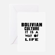 Bolivian Culture It Is A Way Of Life Greeting Card