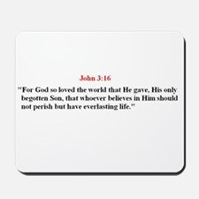 Scripture from the Bible, say Mousepad