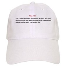 Scripture from the Bible, say Baseball Cap