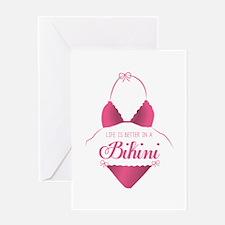 A Bikini Greeting Cards