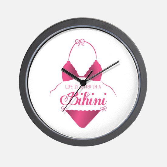 A Bikini Wall Clock