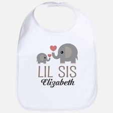 Lil Sis Personalized Sister Bib