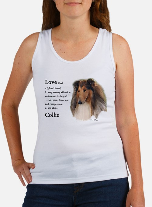 Rough Collie Love Is Tank Top