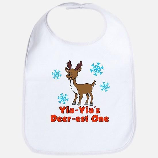 Yia-Yia's Deer-est One Bib