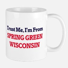 Trust Me, I'm from Spring Green Wisconsin Mugs