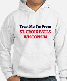 Trust Me, I'm from St. Croix Fal Hoodie