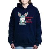 Babcias little bunny Hooded Sweatshirt