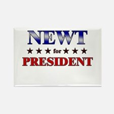 NEWT for president Rectangle Magnet