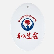 Funny Fist Oval Ornament