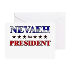 NEVAEH for president Greeting Card
