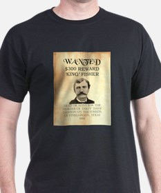 "Wanted ""King"" Fisher T-Shirt"