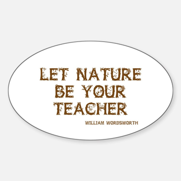Nature Oval Decal