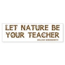Nature Bumper Bumper Sticker