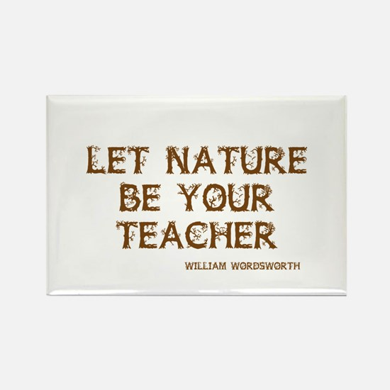 Nature Rectangle Magnet