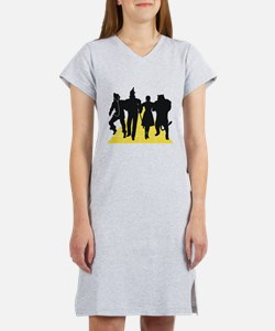 Cute The wizard of oz lion Women's Nightshirt