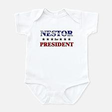NESTOR for president Infant Bodysuit