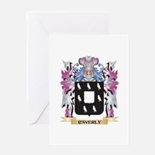 Caverly Coat of Arms (Family Crest) Greeting Cards