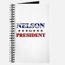 NELSON for president Journal