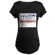 NELSON for president T-Shirt
