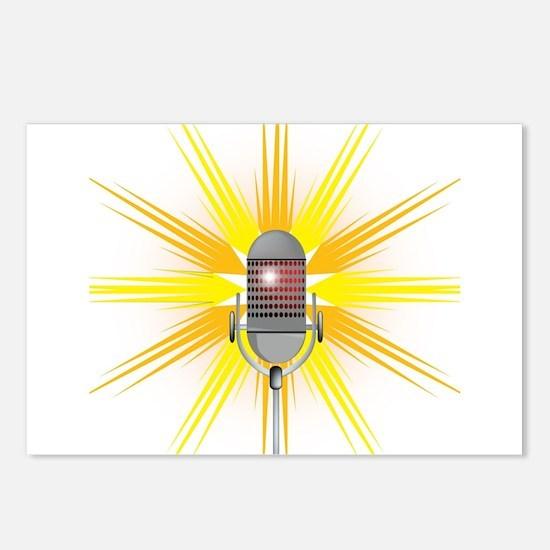 Karaoke Postcards (Package of 8)