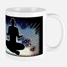 Sukhasana Yoga Pose Mugs