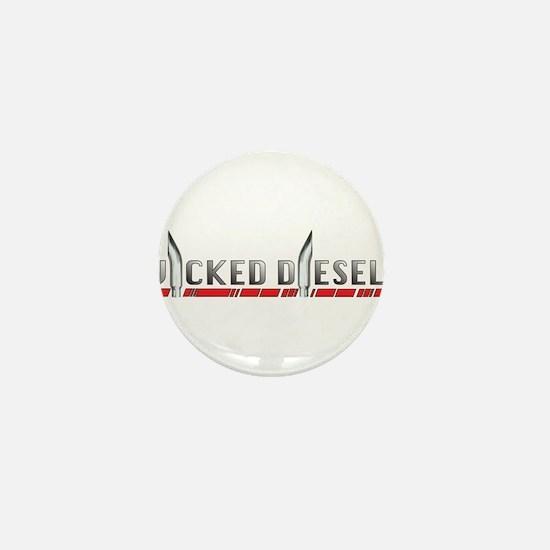 Wicked Diesels Logo Mini Button