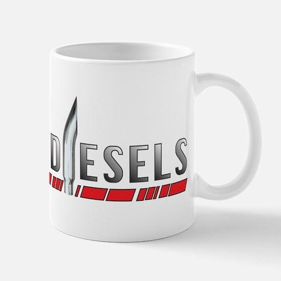 Wicked Diesels Logo Mugs