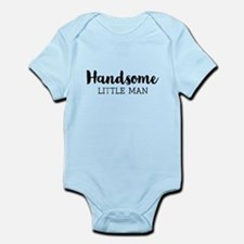 Handsome Little Man Body Suit