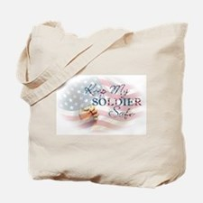 Keep My Soldier Safe Tote Bag